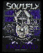 Soulfly-Patch ricamate-Enslaved 9x10cm