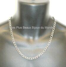 Collar Hombre Cadena Malla Figaro 6,5mm Acero Inoxidable