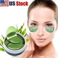 US 60Pc Collagen Eye Mask Under Eye Patch Gel Pad Anti-Wrinkle Dark Circles Bags
