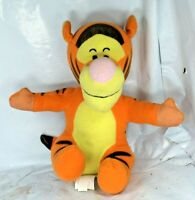 "Disney Seated Winnie the Pooh Tigger Rare Plush 8"" HTF Eeyore Small Friends GUC"