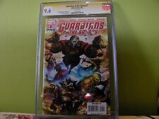 GUARDIANS OF THE GALAXY #1  CGC SS 9.6 - 1ST APP. UNIQUE SIGNING BY ANDY LANNING