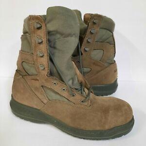 Belleville 610ZST Mens 12 R Hot Weather USAF Side Zip Steel Toe Tactical Boots