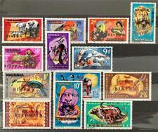 Nigeria. OPTD Biafra. Definitive Stamp Set. SG4/16. 1968. MNH.  #TS82.