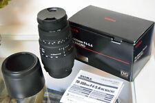 Sigma 70-300mm f/4-5.6 DG Macro - NIKON AF D