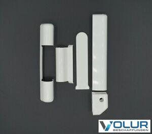 1 Stück Roto NT Abdeckkappenset, 5-teilig, weiß, für Kunststofffenster