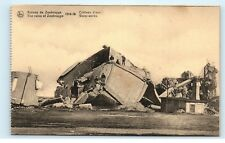*Zeebrugge Belgium The Ruins Chateau D'eau Water Works Vintage Postcard B93