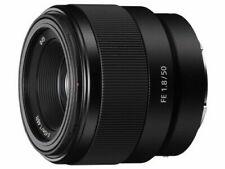 Sony FE 50mm F/1.8 Full Frame Portrait Lens