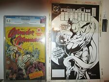 Power of the Atom 14 MECHANICAL COVER ART 1989 DC Comics Humbug B/W Paste-Ups