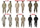 Tactical Cargo SHIRT+PANTS Camouflage Combat Uniform Us Army Airsoft Camo BDU