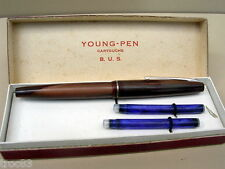 STYLO YOUNG PEN PLUME OR PAR STYLOMINE ANCIEN COLLECTION VERS 1960