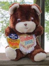 Vintage  1982 Teddy MELODY BEAR Electronic Musical - Plays 16 songs - Mint w/Tag