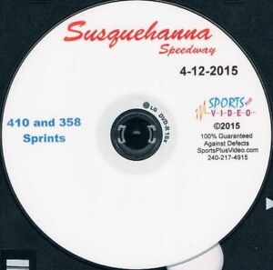 410 Sprintcars DVD From Susquehanna Speedway 4-12-2015