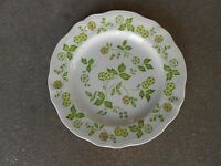 "PETITE FLORA Ironstone 10.5"" DINNER PLATE Interpace Sears JAPAN"