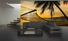 Beach at Sunset Wall Mural Photo Wallpaper GIANT DECOR Paper Poster Free Paste