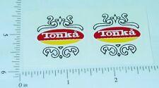 Tonka New Style Fire Truck Door Stickers         TK-079