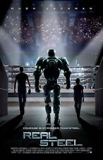 Real Steel movie poster print - 11 x 17 inches - Hugh Jackman (c)