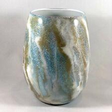 Blue Milky Way Theme Epoxy Coated 16 oz Wine Glass