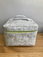 Boots cosmetic case / bag with London map design • NWOT