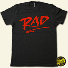 """RAD"" SuperCool Retro 80's BMX Movie T-Shirt * SuperSoft Cotton Vintage Feel Tee"