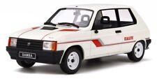 OTTO MOBILE 694 TALBOT SAMBA RALLY resin model car white 1983 Ltd Ed 1:18th