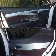 4PCS Aluminum Interior Door Molding Trims Cover For Toyota C-HR CHR 2017 2018