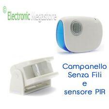 CAMPANELLO SENZA FILI CON SENSORE DI MOVIMENTO PIR GBC 67834130