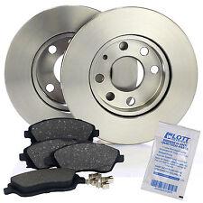 2 Bremsscheiben 240mm + Bremsbeläge vorne für OPEL CORSA C F08 F68 1.0 - 1.7