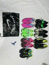 New listing LOT OF 7 TRACK AND FIELD RUNNING SHOES 3 MEN'S 4 WOMEN'S NIKE SAUCONY ASSIC ETC.