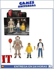 Set figuras Action It 2017 Pennywise Bill Georgie