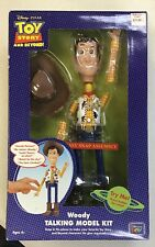 TOY STORY AND BEYOND! WOODY TALKING MODEL KIT THINKWAY TOYS RARE