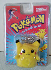 NEW - POKEMON PIKACHU PLUSH CLIP ON - TIGER ELECTRONICS - MADE IN 1999
