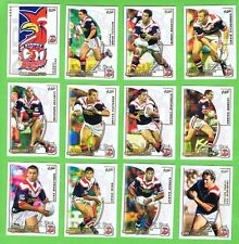 2002  SYDNEY ROOSTERS  SELECT NRL CHALLENGE RUGBY LEAGUE CARDS, PREMIERS