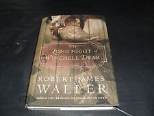 The Long Night of Winchell Dear by Robert James Waller Large Print Book