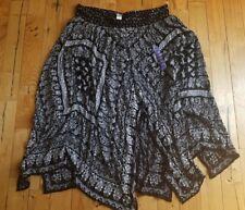 NWT Women's Black/ White BILA Bohemian Maxi Skirt Size XL X-LARGE