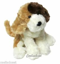"Douglas Playful LABRADOODLE 8"" Plush Tri-Color Stuffed Floppy Dog Cuddle Toy NEW"