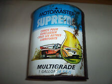 Canadian Tire Motomaster Multigrade Supreme Oil Can Tin 1 Imperial Gallon 10W30