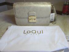 LOQUI GRACE CROSSBODY WOMENS HAND BAG GOLD NEW