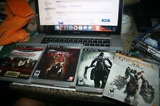 4 PS3 GAMES DEVIL MAY CRY COLLECTION DARKNESS 2 DARKSIDER GOD OF WAR