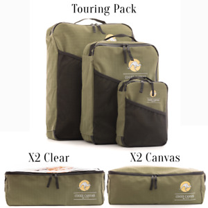 Ultimate Touring Pack Canvas Storage Bags