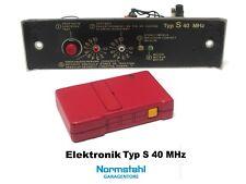 Normstahl Motorsteuerung Elektronik 40 MHz Perfekt Garagentorantrieb Handsender