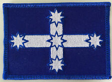 EUREKA FLAG -- EMBROIDERED  CLOTH PATCH. Iron On   D030902