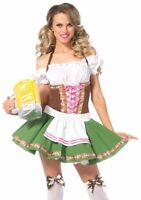 Sexy Gretchen German Beer Maid Wench Oktoberfest Renaissance Halloween Costume