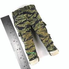 Hot Toys Navy Seal in Vietnam M63A Gunner 1/6th Tiger Stripe Camo Pants w/ Belt