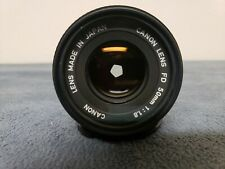 Canon FD 50mm F/1.8 Lens