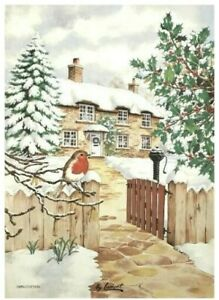 Coming Home For Christmas Cotton Tea Towel from Samuel Lamont