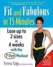 FIT AND FABULOUS IN 15 MINUTES - NEW PAPERBACK BOOK