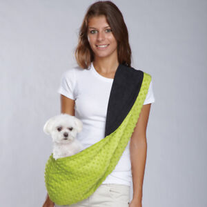 Reversible Shoulder Sling Dog Carrier High Quality Pet Travel Comfort with Style