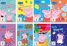 8 DVDs * PEPPA PIG - VOLUME 1 - 8 IM SET # NEU OVP +