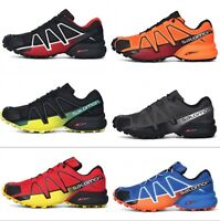 Designer Mens Speedcross 4 Athletic Running Sports Camping Outdoor Hiking Shoes