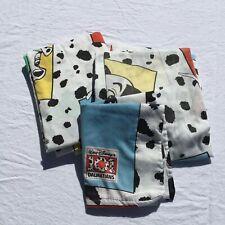 3 pc 101 Dalmations Twin Sheet Set Bibb Co Disney 50% Cotton/ 50% Polyester
